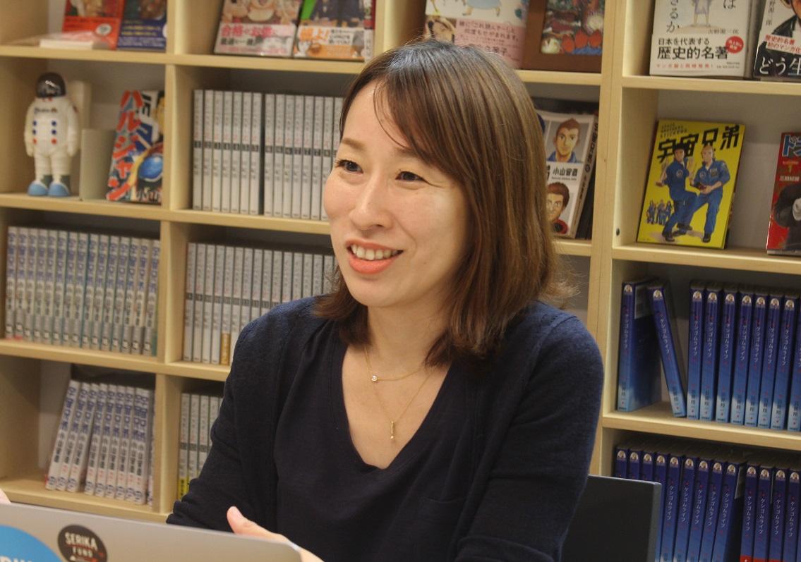 せりか基金代表:黒川久里子さん