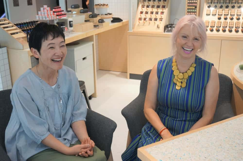 窪田さんとロウィーナさん