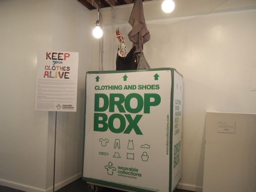 ドロップオフできる箱