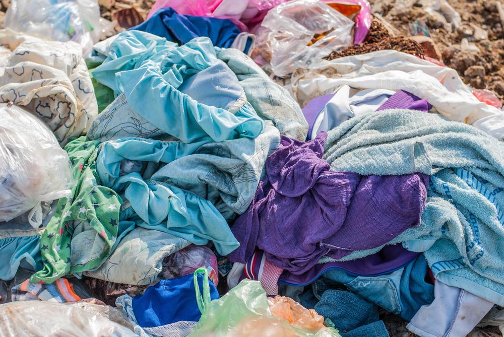 衣料品廃棄画像