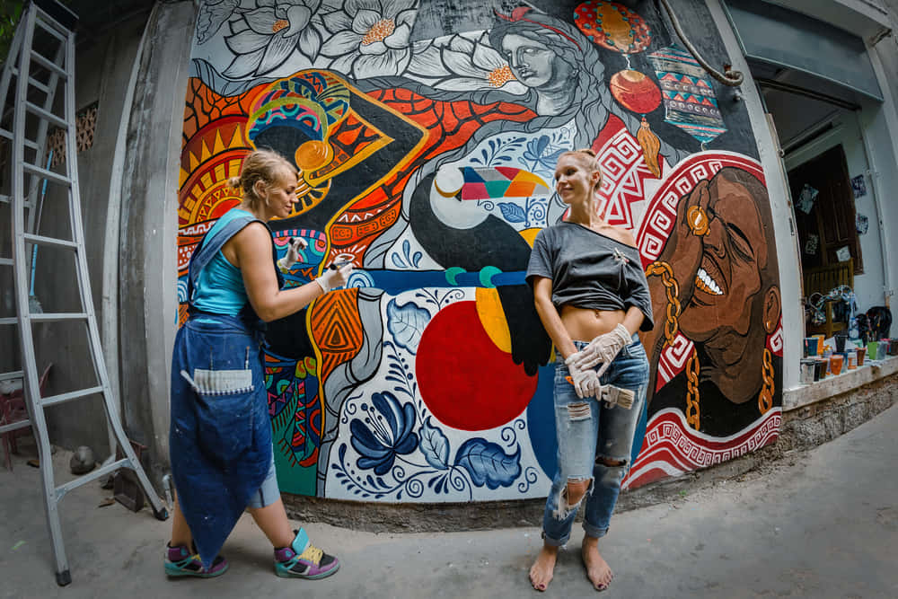環境保護を訴えるストリートアート「Resene Nature Murals」