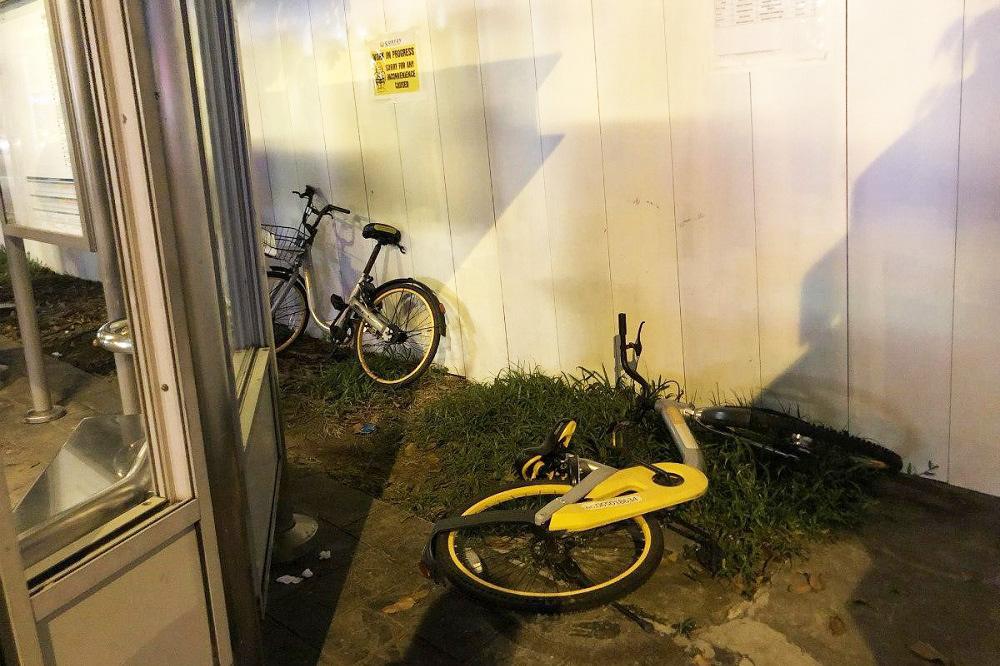 シンガポールのシェアサイクルサービス