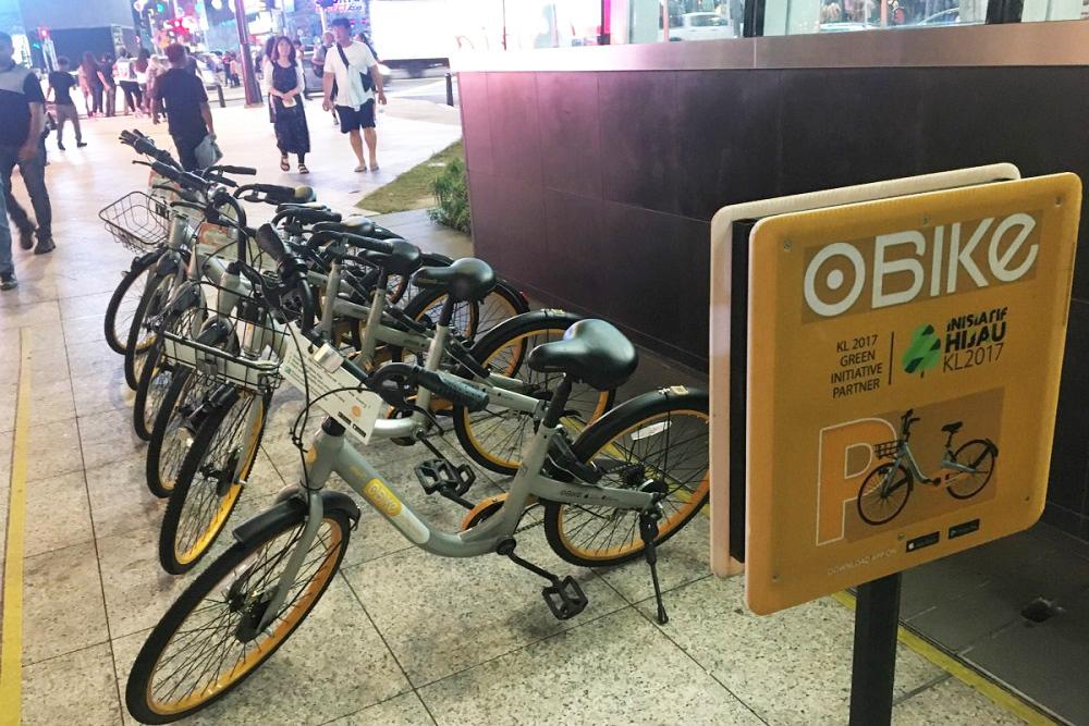 シンガポールで広がるシェアサイクル