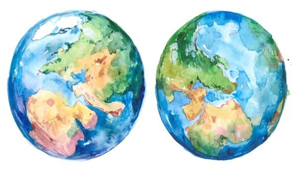 炭素排出量を測定し、地球にやさしい行動を
