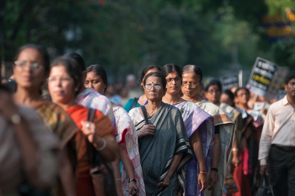 インドの女性たち