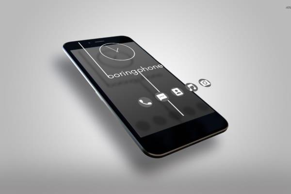 アプリもSNSも使えないスマホ「BoringPhone」