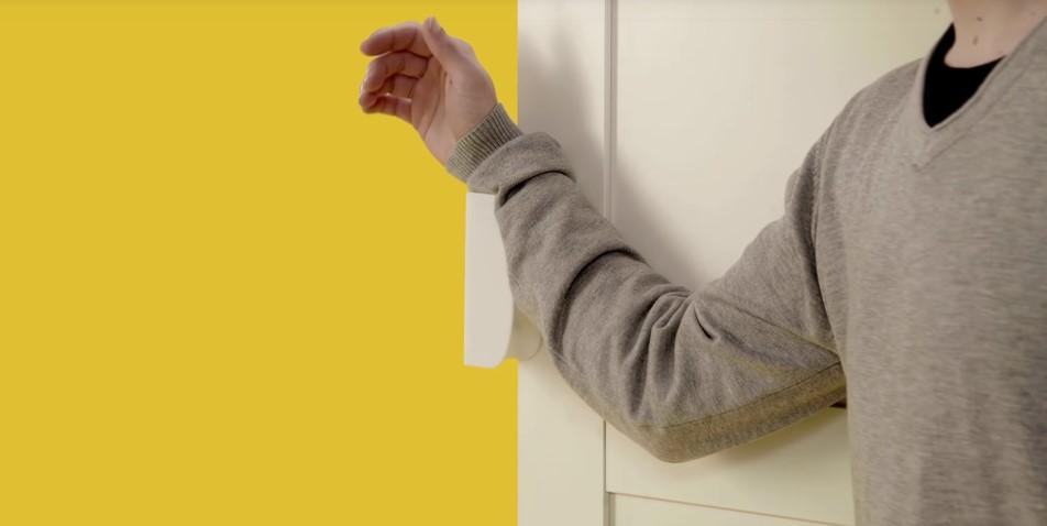 手持ちの家具を、障がい者が使いやすいように変えるアタッチメント