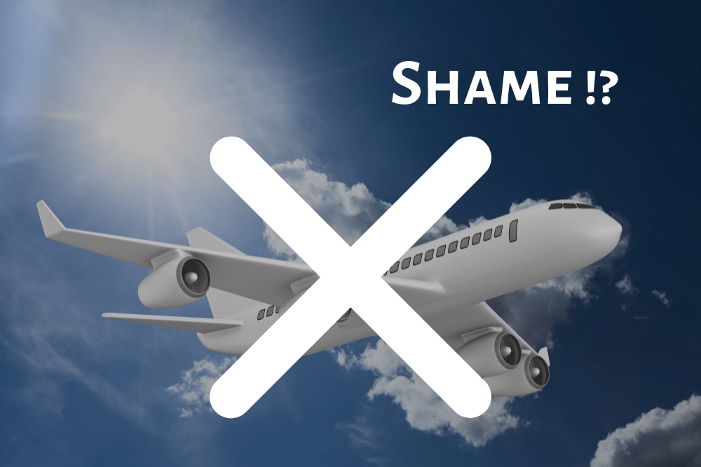 Flight shaming