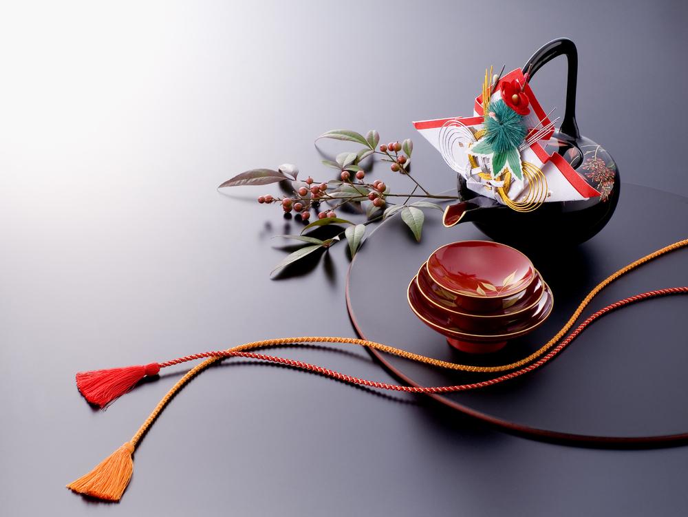 日本の伝統的な漆器