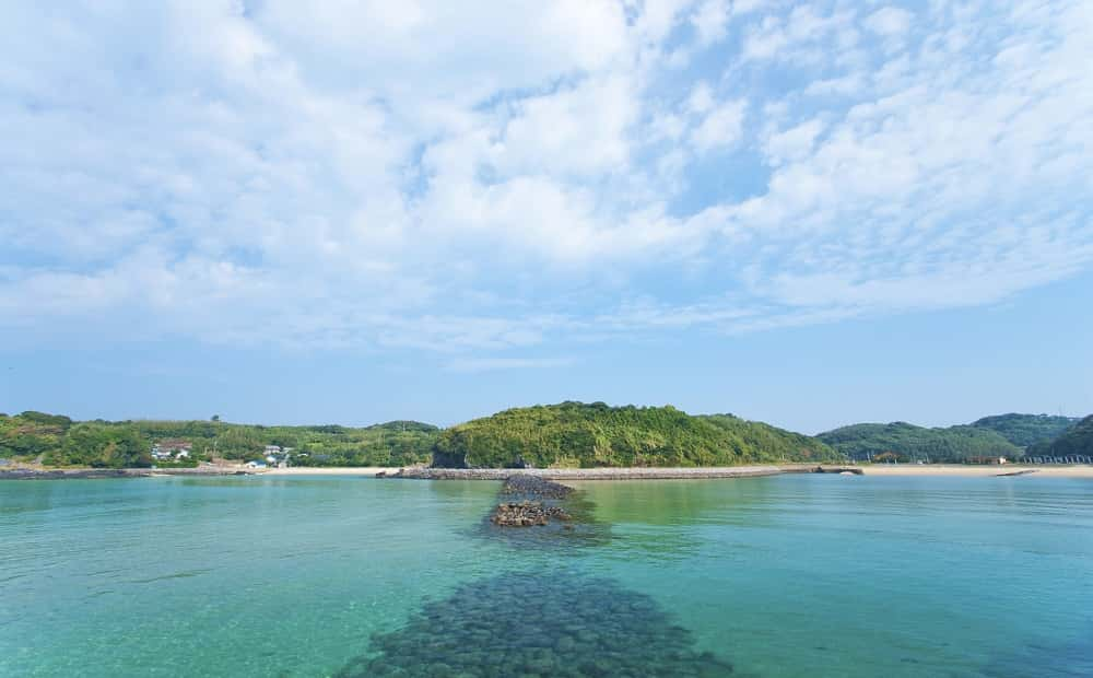 壱岐市のツインズビーチ
