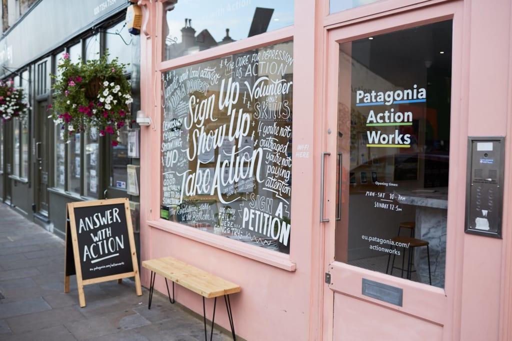 ロンドン市民の環境活動をつなぐパタゴニアのポップアップカフェ