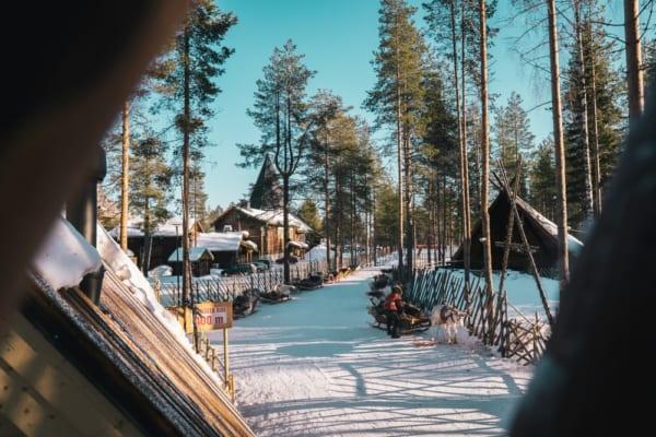 フィンランドのエコリゾート