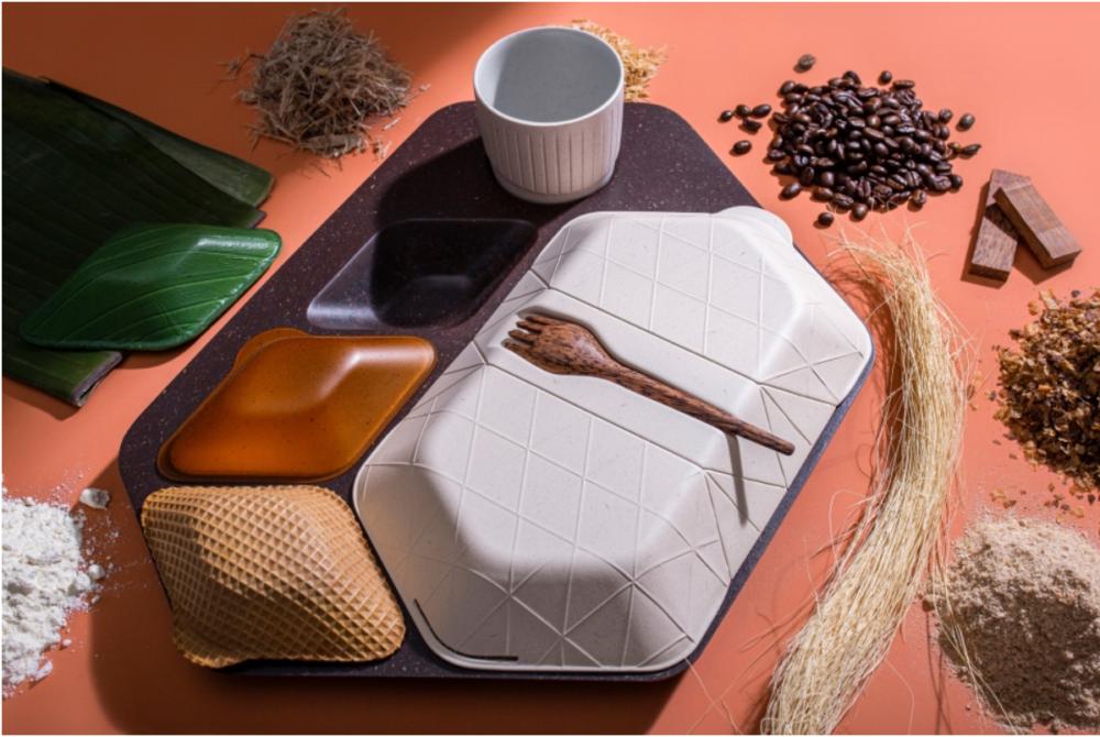 廃棄を減らす食品トレイ