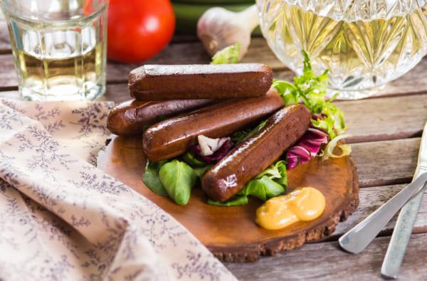 vegan-sausage
