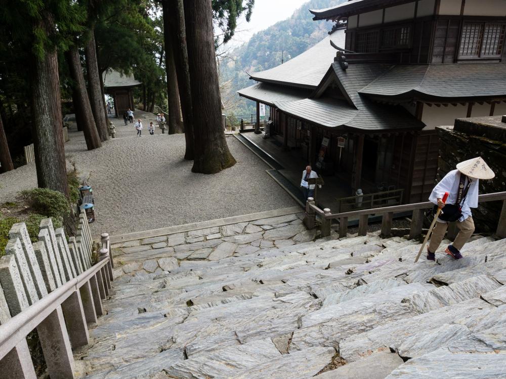 お遍路の階段