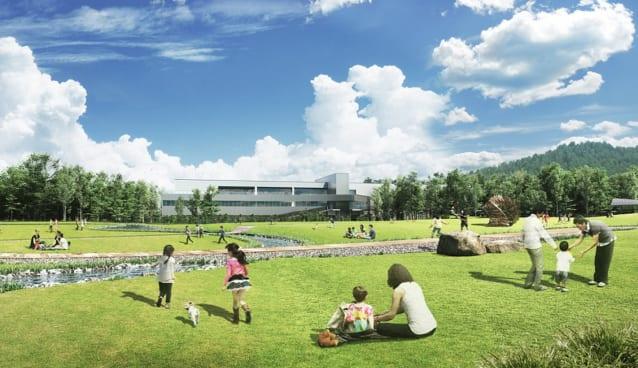 サントリーの新工場イメージ
