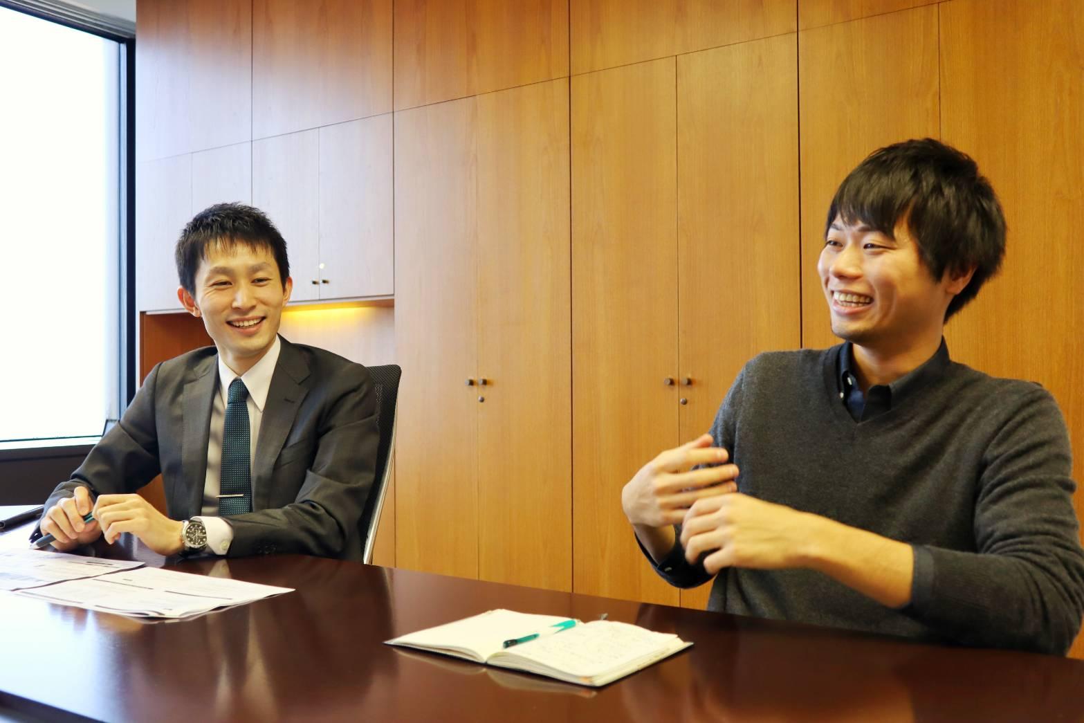 竹内さんと永井さん