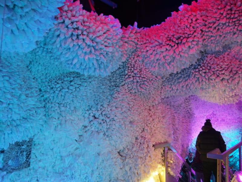 ArcadiaEarthの展示・虹の洞窟