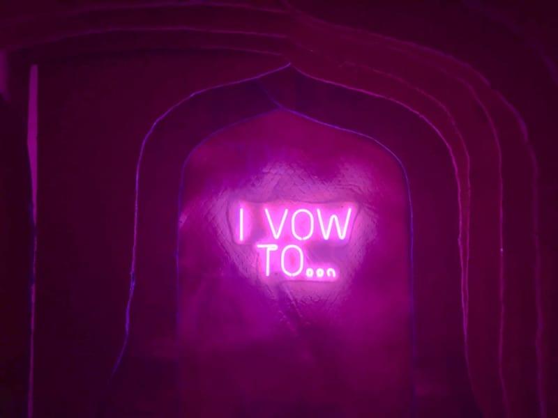 ArcadiaEarthの展示:誓いのトンネル