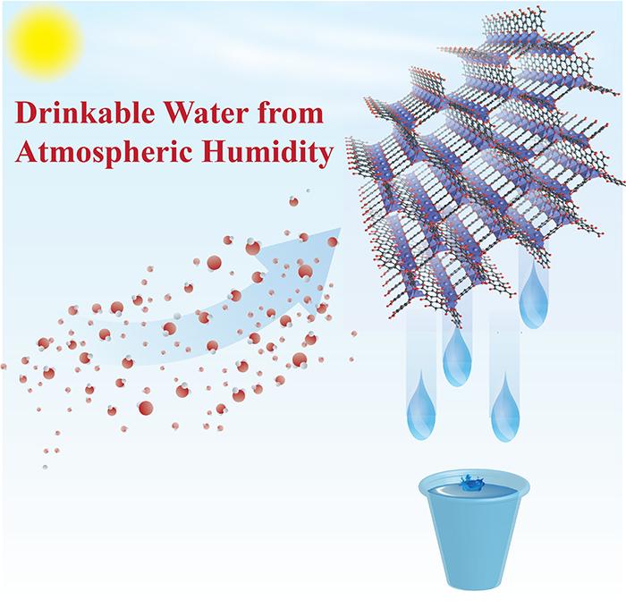 薄い空気から飲料水を抽出