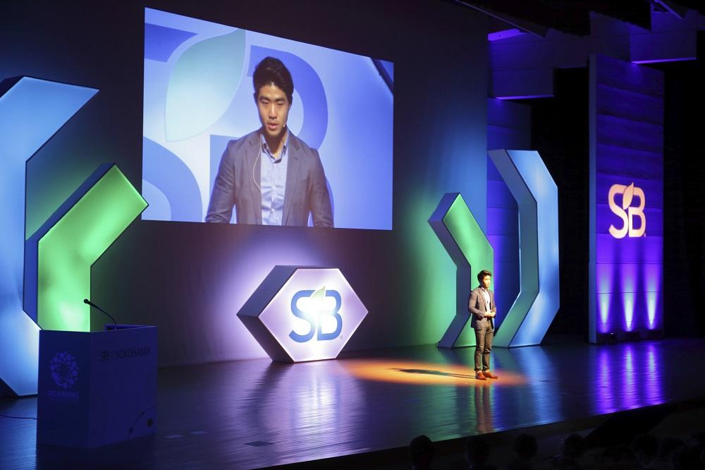 サステナブル・ブランド国際会議2020横浜でZ世代を代表して基調講演を担当した伊達さん