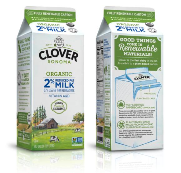 再生可能な牛乳パック