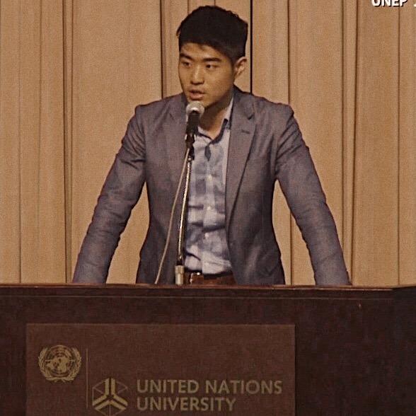 UNEPフォーラムでの講演の様子