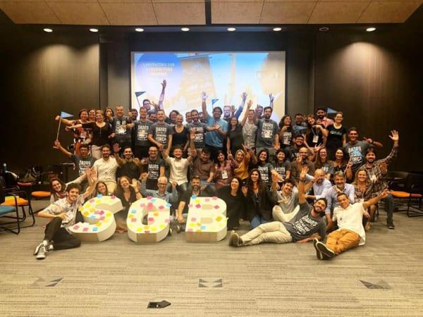 Social Good Brasilのラボ参加者の集合写真