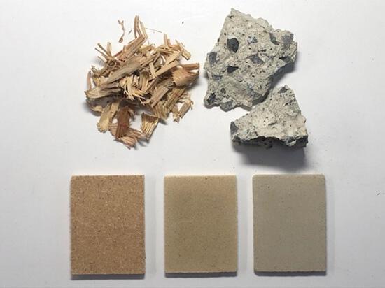 新技術で製造されたリサイクルコンクリート