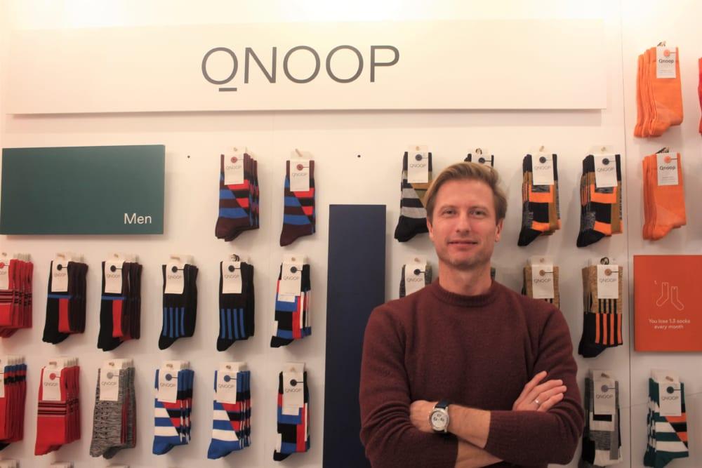 Qnoopの創業者Dirkさん