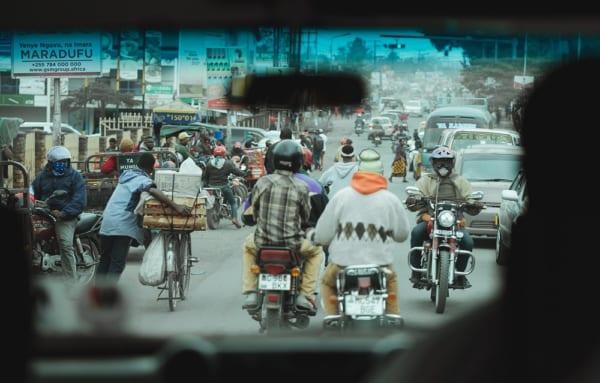 東アフリカのバイク事情