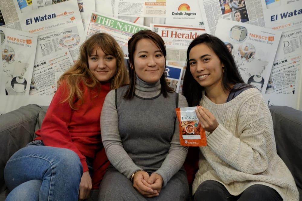 女性起業家たちと田中さん