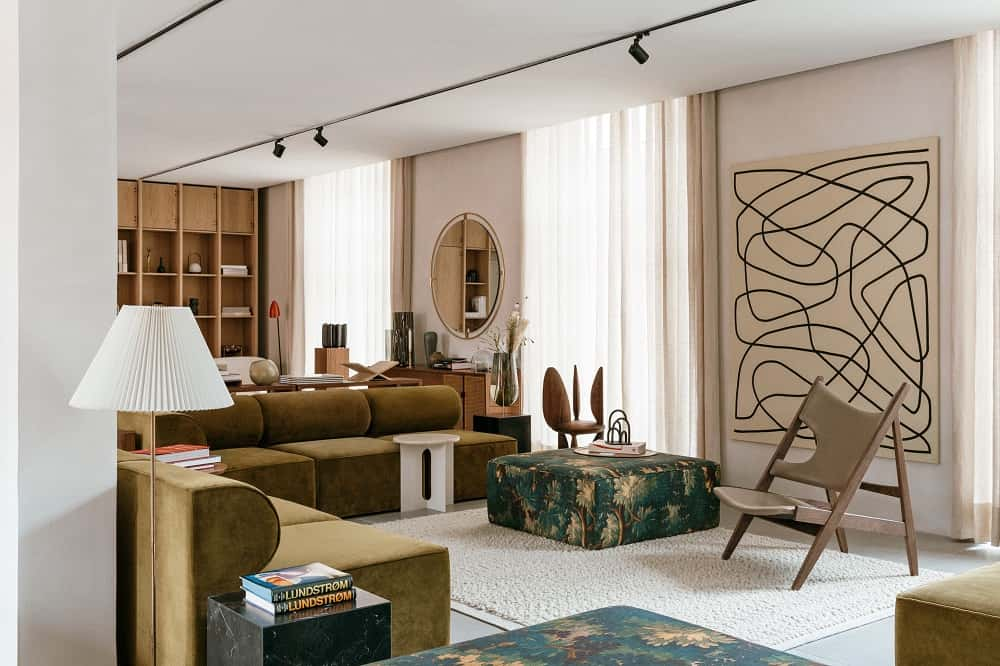 すべての家具を購入できる、ショールーム型ホテル「THE AUDO」