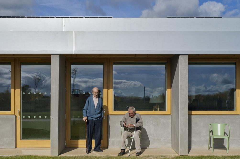 スペインの特別養護老人ホームがパッシブハウスに変身