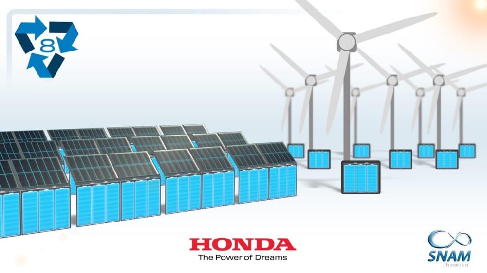 ホンダのバッテリーリサイクル
