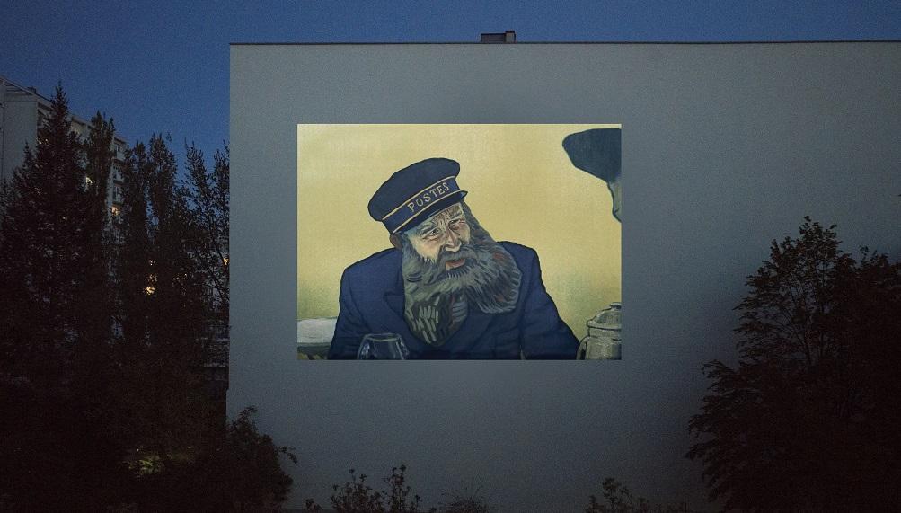 窓から映画鑑賞 ベルリン