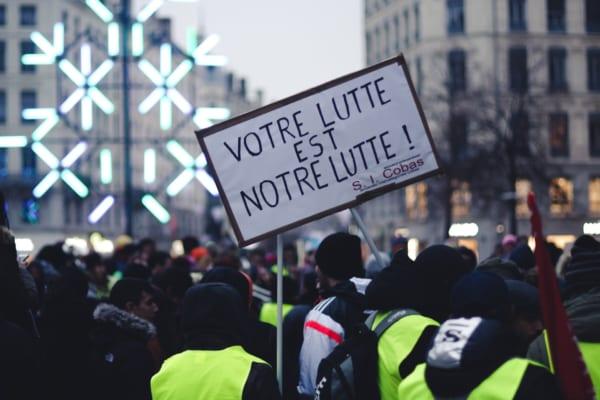 フランスの黄色いベスト運動