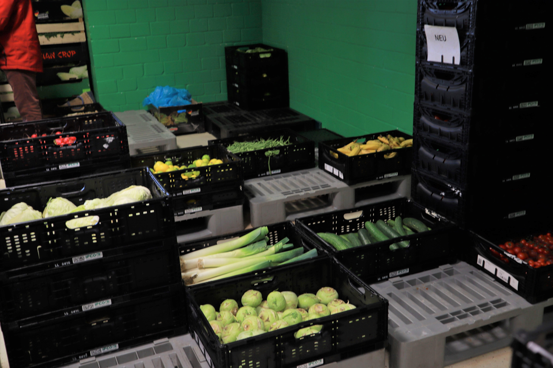 ベルリーナターフェルに届く野菜