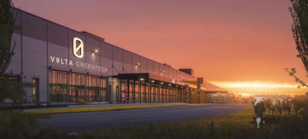 Volta Greentechの工場