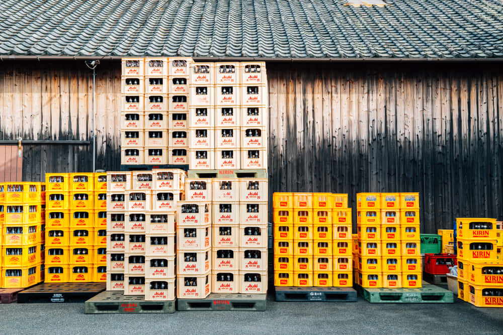 卸で流通する瓶ビール