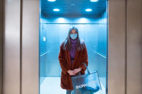 タイのエレベーター
