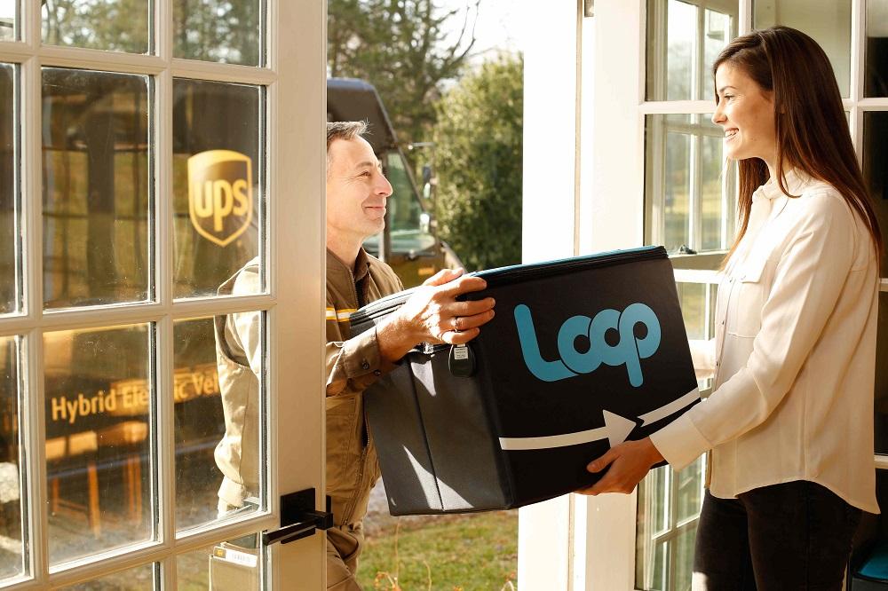 使い捨て容器がない循環型ショッピングプラットフォーム「Loop」
