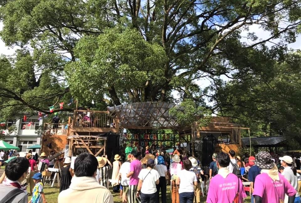 森の中の廃校フェス GOOD NEIGHBORS JAMBOREE