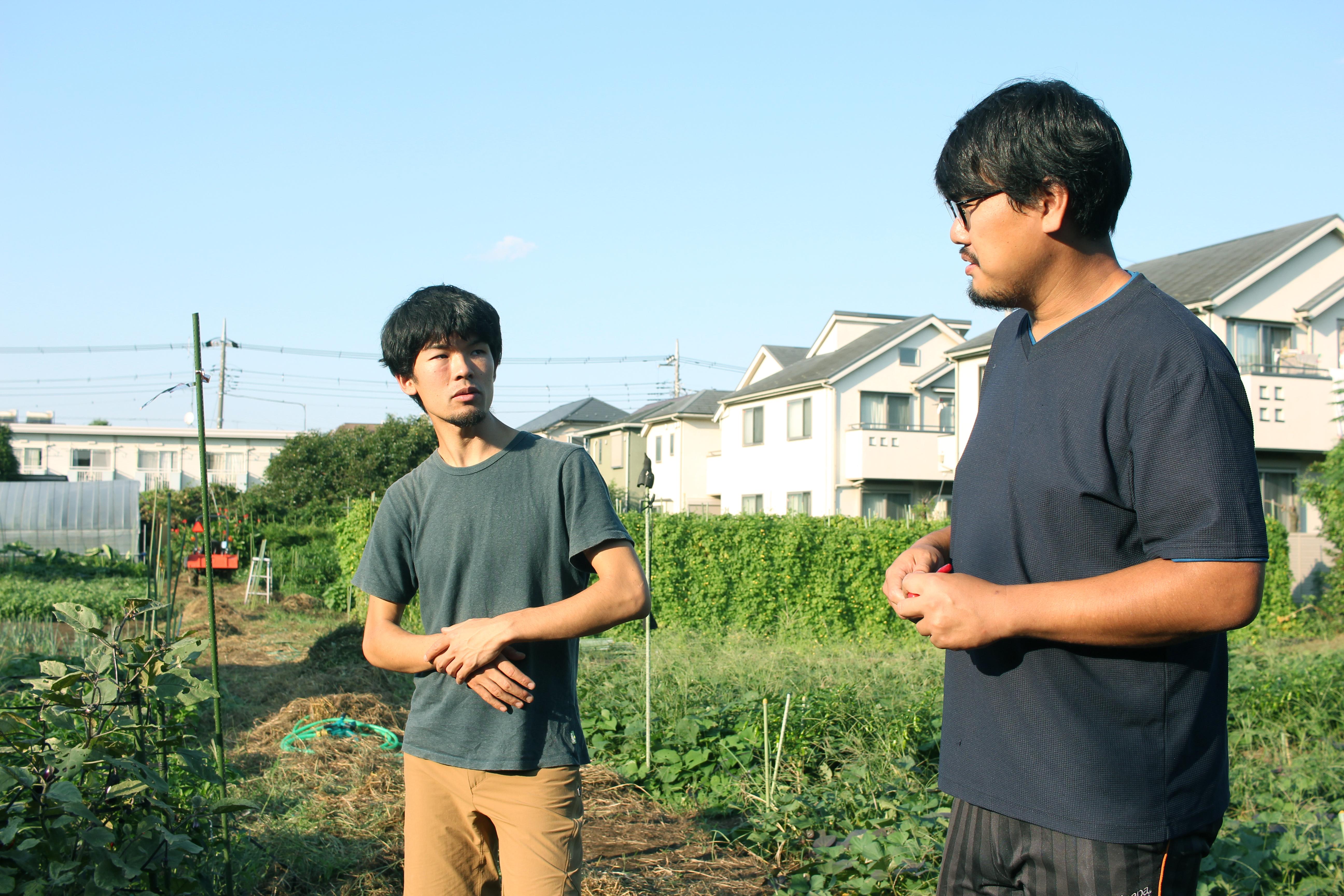 左:安居昭博さん 右:鴨志田純さん