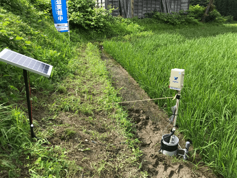 水田水位管理システム