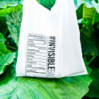 香港発・水に溶けるビニール袋「#INVISIBLEBAG」