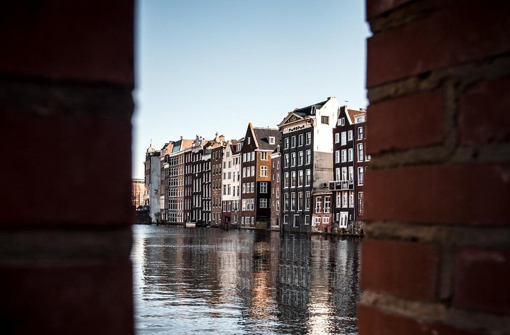 オランダの首都アムステルダム