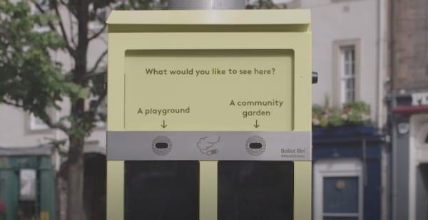 HUBBUBの投票ごみ箱