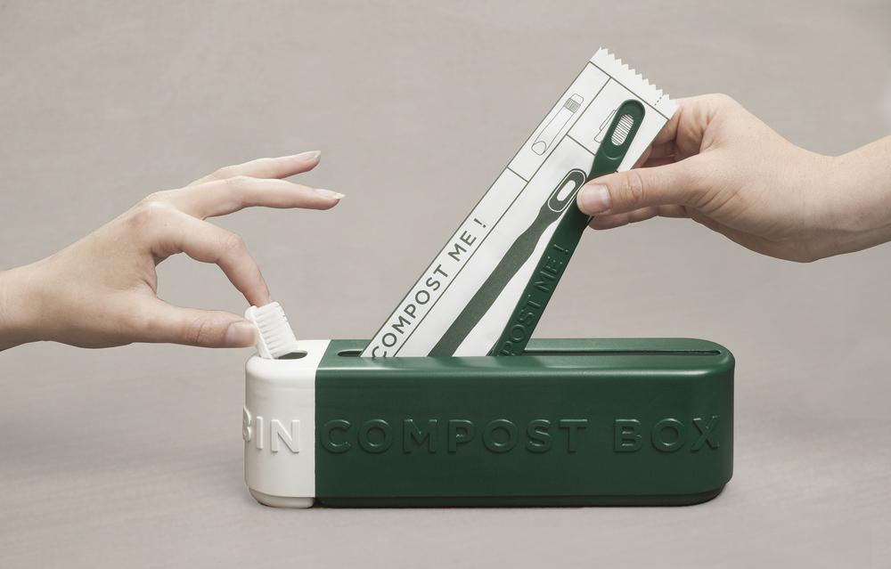 堆肥化できるホテルアメニティ「Green Box」