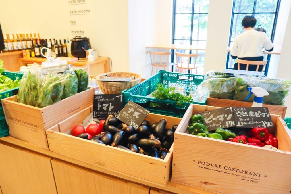 お野菜のマーケット